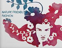 Ecological Fashion Illustrations
