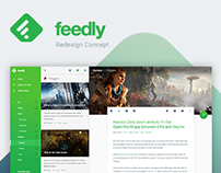 feedly Redesign Concept