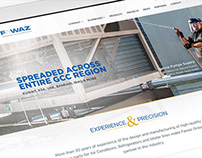 Fawaz Group UAE - Web design