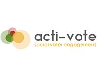Logo: acti-vote