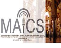 """Córdoba 1, music for the """"MAICS"""" website"""