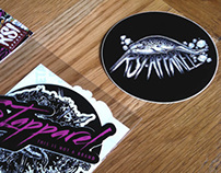RSI APPAREL / Sticker