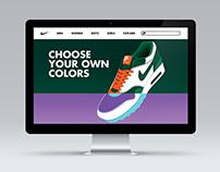 Nike Custom Website