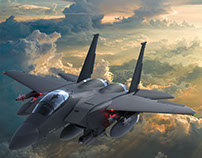 McDonnell Douglas F-15E Strike Eagle MODEL / LOOKDEV
