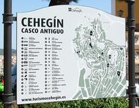 Señalética para el Casco Antiguo de Cehegín