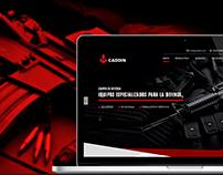 Sitio Web - Caddin