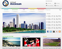Virtual Michigan - Website Design