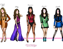 Fifth Harmony 7/27 Illustration