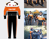Indumentaria Team Can-Am by Nextel / Dakar 2012