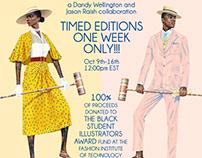 FIT Black Student Illustrator Awards Fundraiser Prints