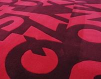 Typographic Rug