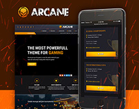 Arcane - Create a Real Gaming Community