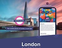 London Calling - Mobile app prototype #IconContestXD