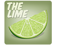 "Prototype UI Design for iPhone App. ""The Lime"""