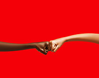 Coca-Cola Fist Bump Campaign
