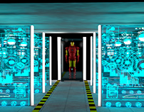 Iron Man Videogame Showroom