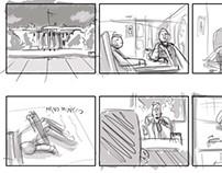 Storyboard Biónico Amor.