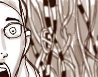 Storyboard Hansel y Gretel.
