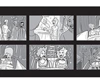 Storyboard Danette.