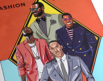 Fashion Forward - NBA poster