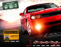 Dodge web site design