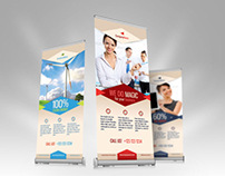 Multipurpose Business / Product Roll-up Banner