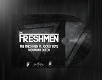 The Freshmen Album cover design + social media