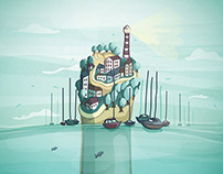 Terras Gauda - Poster