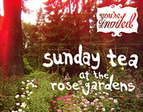 Sunday Tea at the Rose Gardens