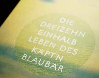 """Book design """"Die 13 1/2 Leben des Käpt'n Blaubär"""""""