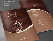 Coffee Shop - Restaurant Menu Brochure