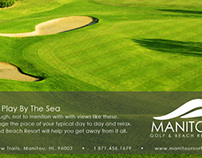 Manitou Golf and Beach Resort Advertisement