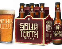Sour Tooth Brewing Co: Branding / Packaging