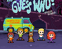 8-bit Scooby-Doo and Guess Who?
