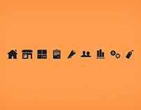 Icons for an app i worked on