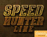 SpeedHunter Line - FREE Font