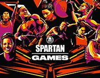 Spartan Games - Key Visual Illustration