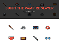 Buffy the Vampire Slayer - Icon Set