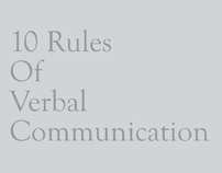 10 Rules Of Verbal Communication