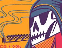 The Oddballs + Ukelele Zombies (Cartel Concierto)