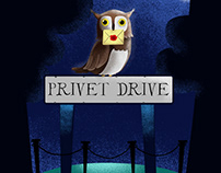 Ruddy Owl - Potter Week Prompts