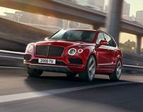 Bentley Bentayga V8 - CGI & Retouching