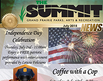 Summit Newsletter Cover - July 2015