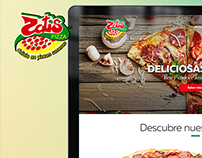 Zatis Pizza Website