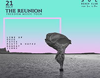 The reunion - Flyer Artwork