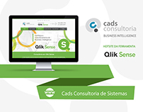 Web Design | Website Cads Consultoria | Qlik Sense