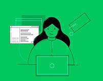 illustrations for HackerRank