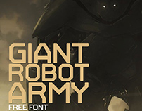 Giant Robot Army Free Font