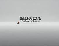 Honda Virtual advert