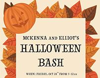 Halloween Bash Invite
